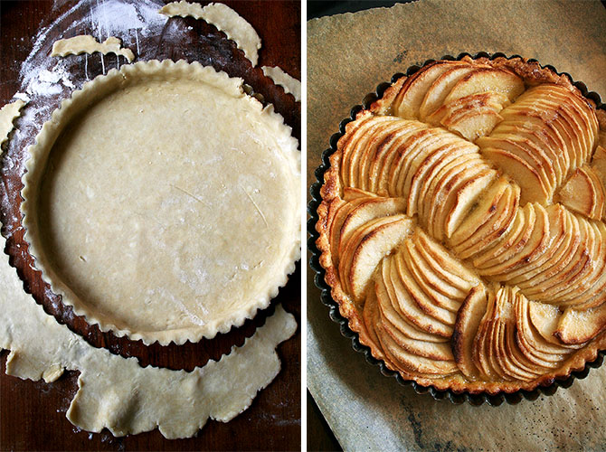 Chou pomme blog - make this apple tart
