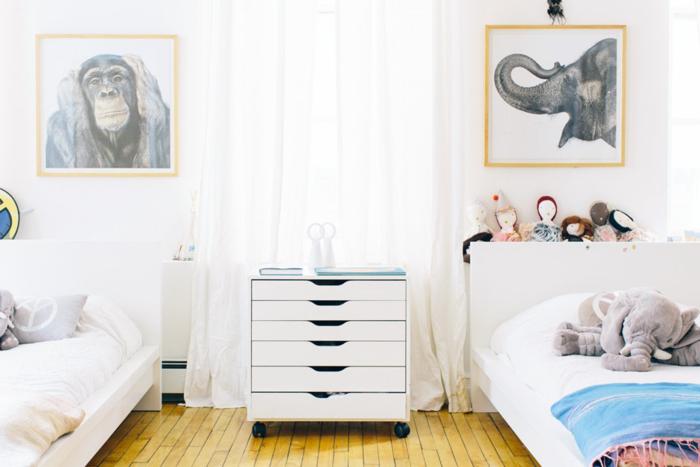 Chou pomme blog - kids room dresser