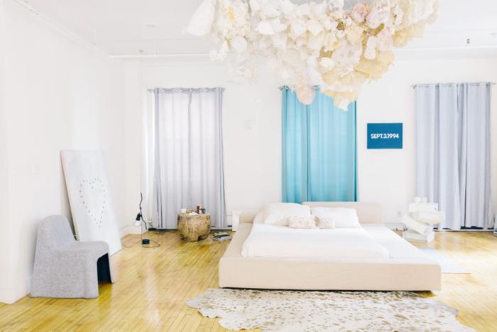 Chou pomme blog - master bedroom