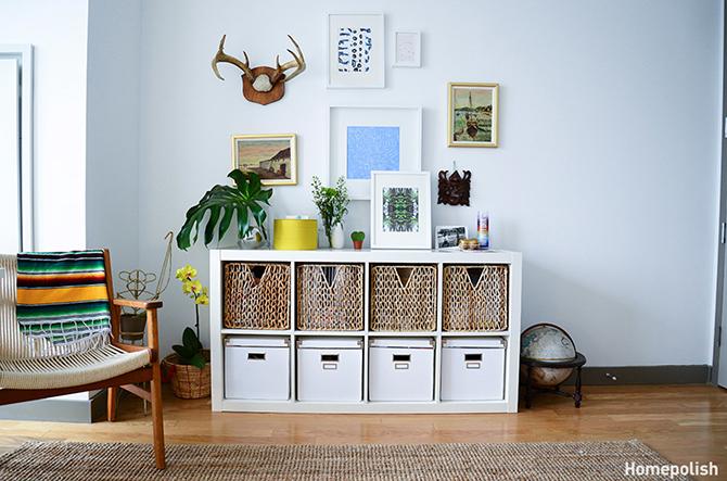 Homepolish-storage space