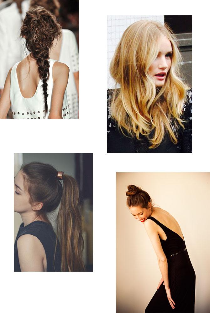 Chou pomme blog - embrace messy hair